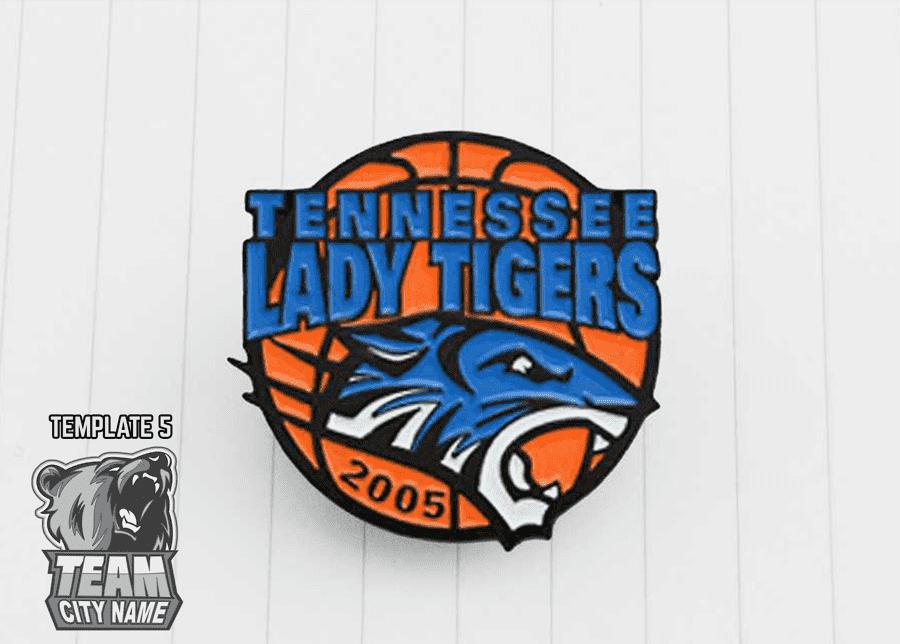 Basketball Trading Pin designs