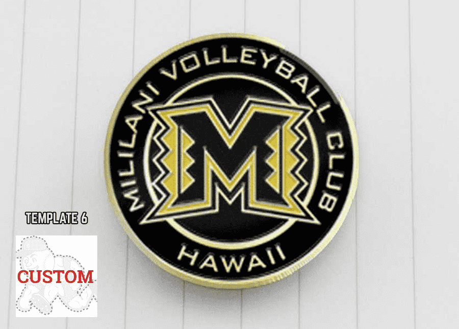 Volleyball Trading Pins