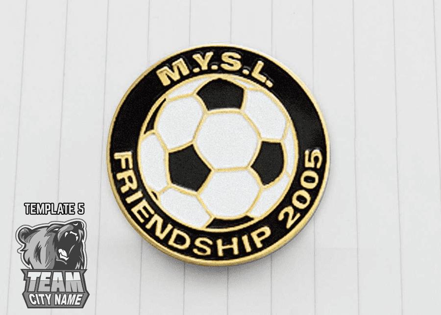 Soccer Trading Pins