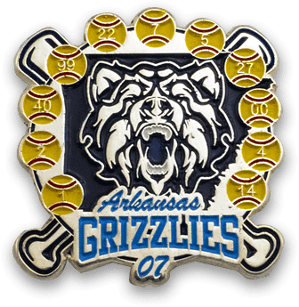 arkansas-grizzlies-trading-pins